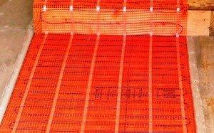Как установить электрический теплый пол?