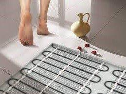 Почему теплый пол под плитку так популярен?