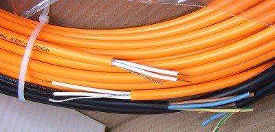 Особенности муфт соединения в нагревательном кабеле.
